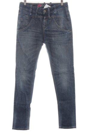 Fornarina Straight-Leg Jeans blau Jeans-Optik
