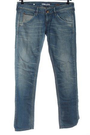 Fornarina Jeansy z prostymi nogawkami niebieski W stylu casual