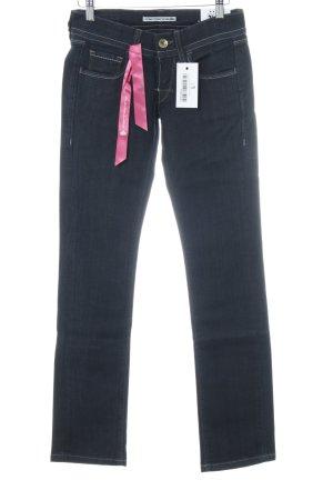 Fornarina Straight-Leg Jeans dunkelblau Casual-Look