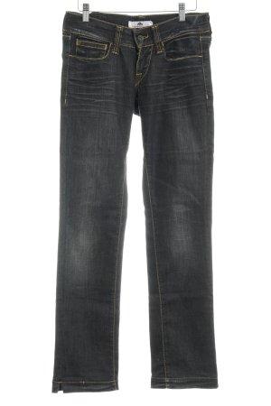 Fornarina Jeansy z prostymi nogawkami szaro-brązowy W stylu casual