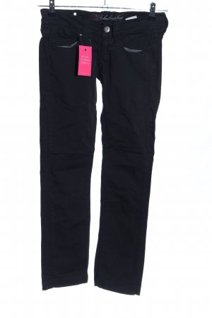 Fornarina Straight-Leg Jeans schwarz Casual-Look