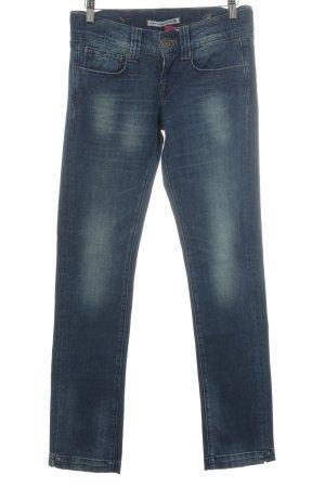 Fornarina Straight-Leg Jeans stahlblau Casual-Look