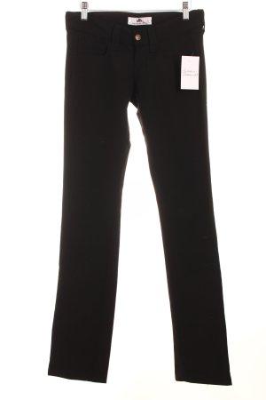 Fornarina Stretchhose schwarz schlichter Stil