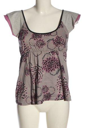 Fornarina T-shirts en mailles tricotées imprimé allover style décontracté
