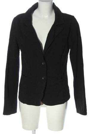 Fornarina Sweatblazer zwart zakelijke stijl
