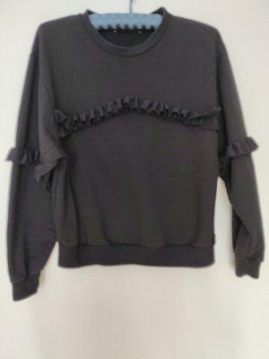 "Fornarina Sweatshirt ""Brooke"" schwarz Gr. M"