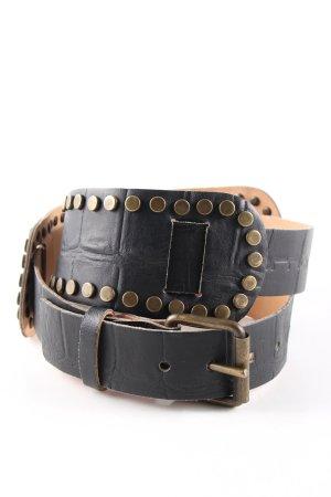Fornarina Taillengürtel schwarz extravaganter Stil