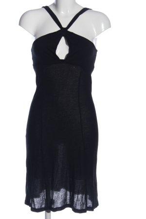 Fornarina Trägerkleid schwarz Casual-Look