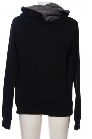 forplay Kapuzensweatshirt schwarz Casual-Look