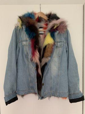 Forte Couture Giacca in pelliccia multicolore