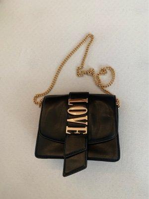 Zara Mini sac noir-doré
