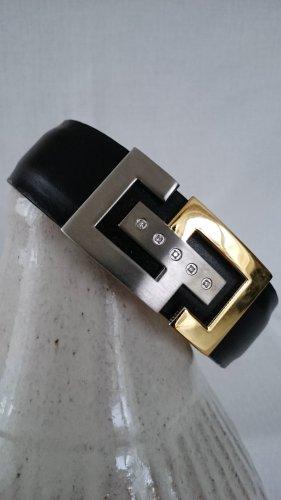 Bracelet de bras multicolore cuir
