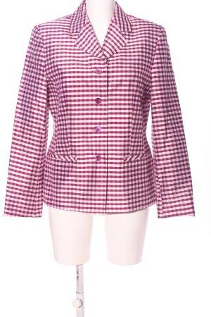 Forum Blazer stile Boyfriend rosa-bianco stampa integrale elegante