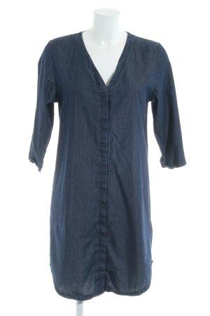 Forvert Jeanskleid dunkelblau Jeans-Optik
