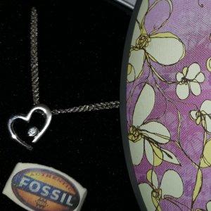 fossil 925er silber Kette
