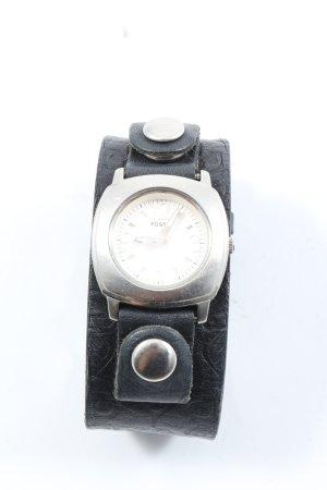 Fossil Analoog horloge zwart casual uitstraling