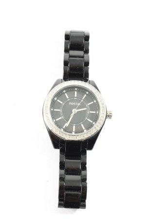 Fossil Zegarek analogowy czarny W stylu casual
