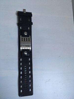 Fossil Lederen armband zwart