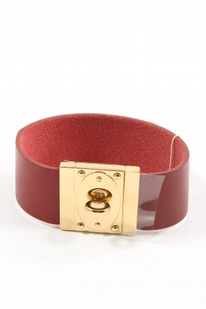 Fossil Armband rot-goldfarben Casual-Look
