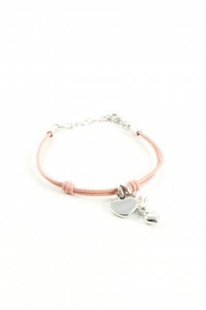 Fossil Bracelet nude-silver-colored casual look