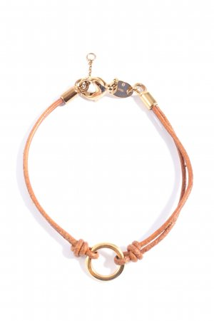 Fossil Armband hellorange-goldfarben Casual-Look