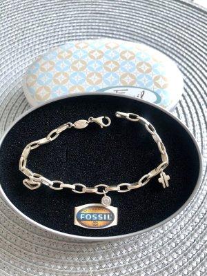 Fossil Armband /Bettelarmband Silber