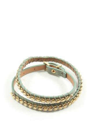 Fossil Armband khaki-goldfarben Glitzer-Optik