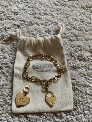 Fossil Charm Bracelet gold-colored
