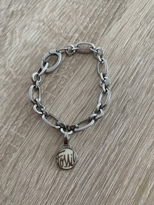 Fossil Armband mit Charm Silber