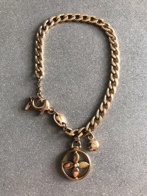 Fossil Armband rosévergoldet mit Zirkonia