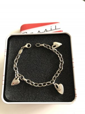 Fossil Armband Silber Herzen
