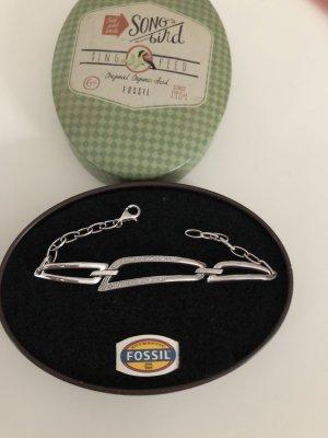 Fossil Armband Silber Zirkonia