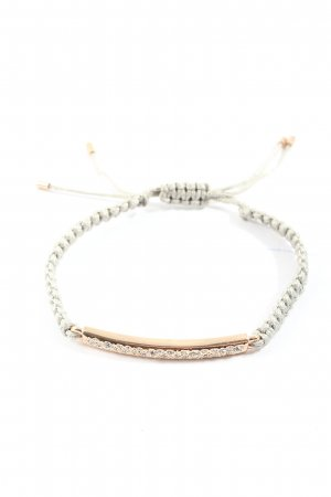 Fossil Armband zilver-goud casual uitstraling