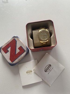 Fossil Armband Uhr im Gold