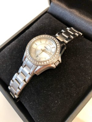 Fossil Analog Watch silver-colored-white