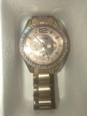 FOSSIL Armbanduhr Gold