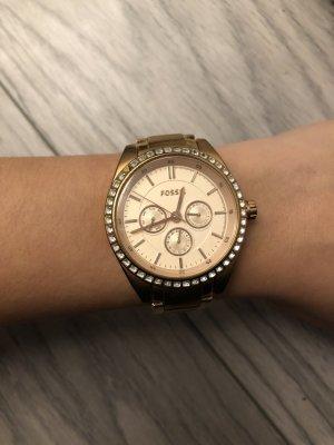 Fossil Armbanduhr Roségold
