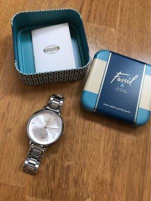 Fossil Armbanduhr Silber