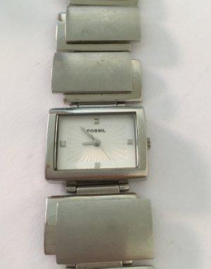 Fossil Armbanduhr, silberfarben