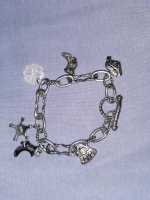 Fossil Charm Bracelet silver-colored