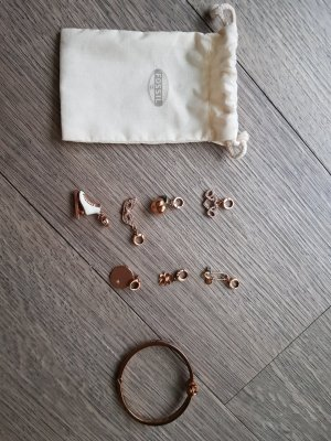 Fossil- Armspange mit Charms