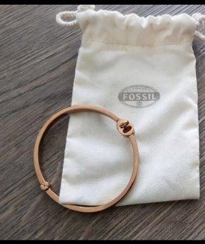 Fossil Bracelet de bras or rose