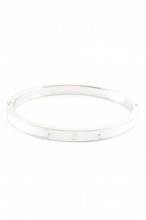 Fossil Mouwband zilver casual uitstraling