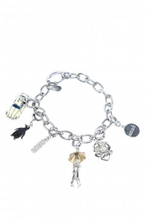 Fossil Charm Bracelet silver-colored-gold-colored casual look