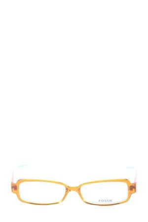 Fossil Gafas naranja claro-azul look casual