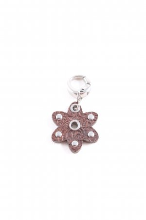 Fossil Charm brown-silver-colored casual look