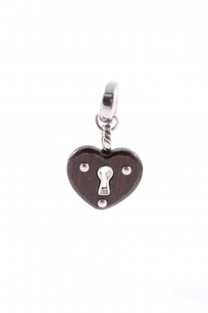Fossil Charm silver-colored-brown casual look