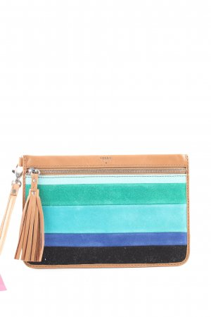 Fossil Clutch Streifenmuster Casual-Look