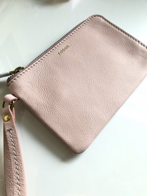 Fossil Clutch pink leather
