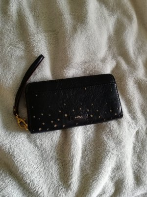 Fossil Clutch black-gold-colored